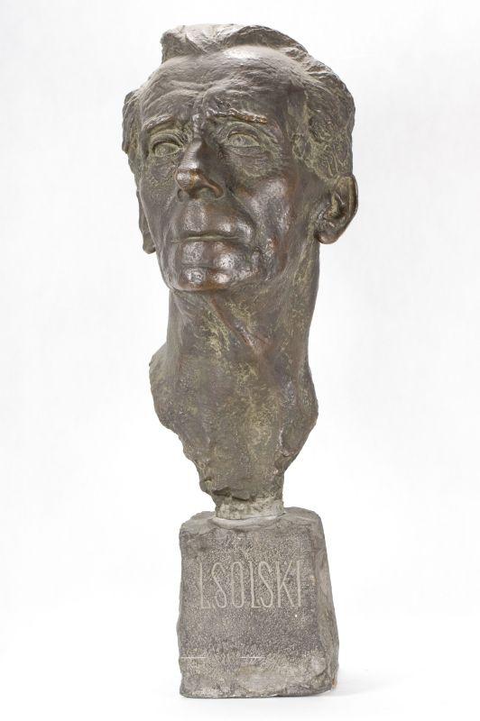 Portrait of Ludwik Solski, A. Karny, 1944, bronze